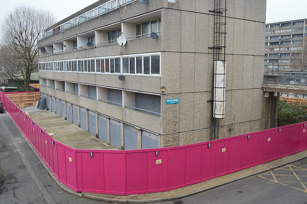 Decommissioning - The Heygate and Aylesbury Estate